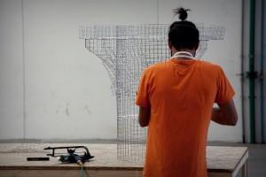 Basilica di rete metallica a Sipoto: intervista all'autore Edoardo Tresoldi