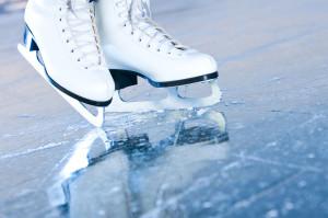 Una pista sul ghiaccio a Manfredonia