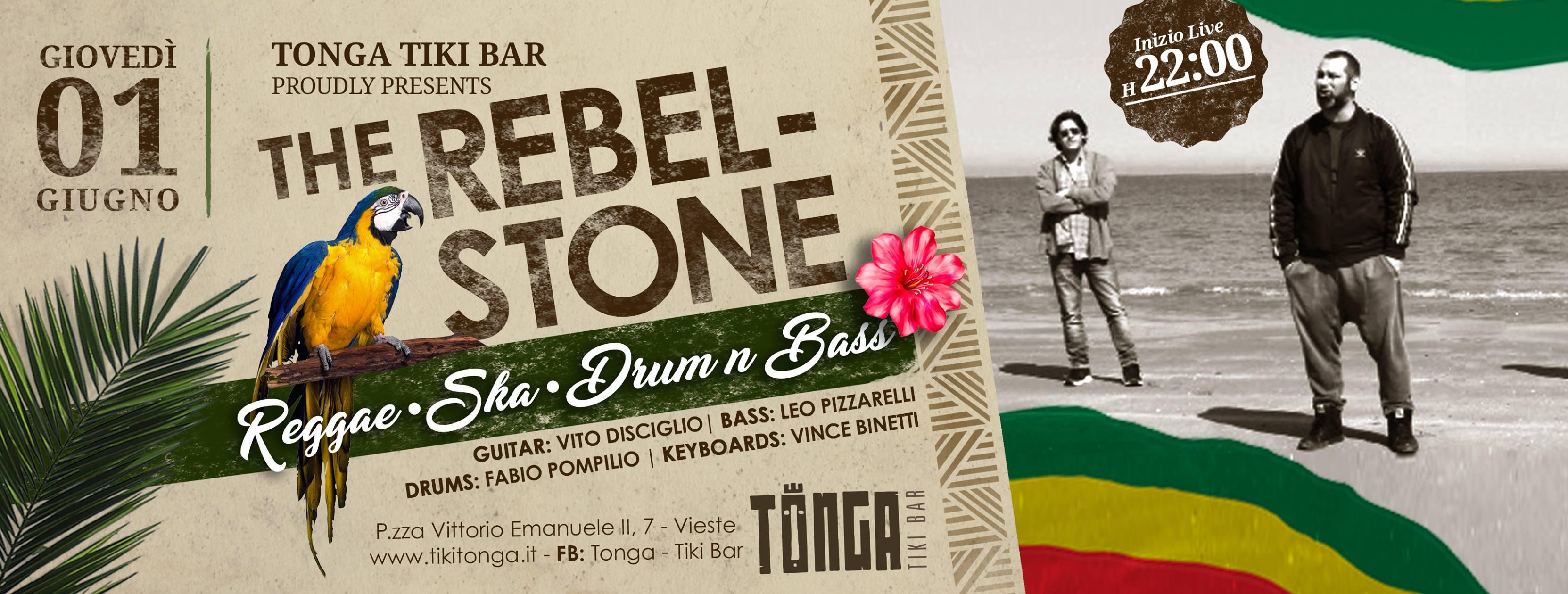 The Rebelstone - Reggae / Ska/ D'n'B
