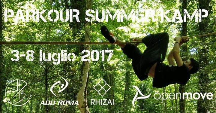 Parkour Summer Camp 2017