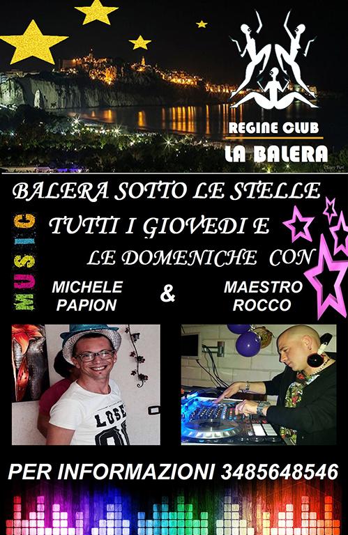 BALERA SOTTO LE STELLE REGINE CLUB