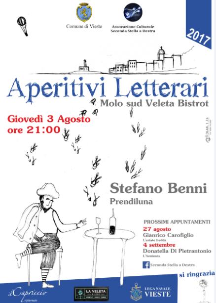 Aperitivo letterario con Stefano Benni
