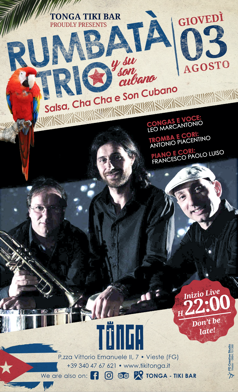 Rumbatà Trio (Salsa, Merengue, Cha Cha)
